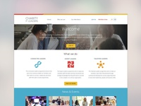 Charity IT Leaders website redesign projects
