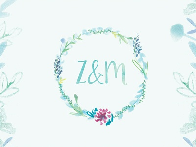 Working on a new wedding invitation design wedding invites flowers illustration