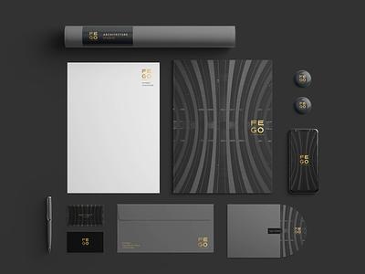 Branding architecture firm brand typography bussines card graphic design logo design branding logotype brand identity