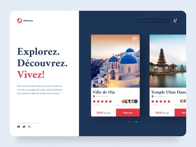 Daily UI #45 - Info Cards Travel travel webdesign travel web product design webdesign web ux ui design colors ui design interface daily ui daily 100 challenge