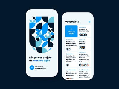 Daily UI #90 - Create New app design interface app web ui design ui colors design daily ui daily 100 challenge