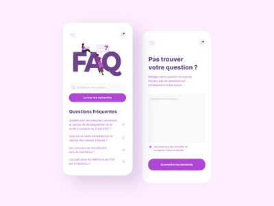 Daily UI #92 - FAQ minimalism app design faq app interface ui design colors ui design daily ui daily 100 challenge