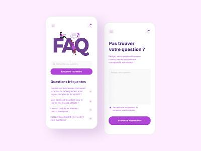 Daily UI #92 - FAQ minimalism app design faq app interface ui design colors ui design daily ui daily 100 challenge