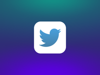 Twitter for Mac App Icon (iOS 7)