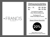 FRANCIS Business Card