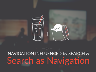 Search as Navigation