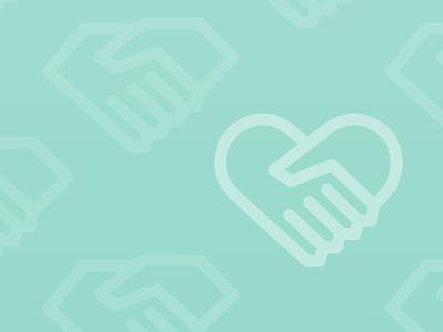 Hearts, States & Handshakes contact handshake sc south carolina heart love illustration pattern state hand greetings