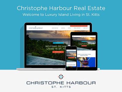 Christophe Harbour Real Estate propertybase expression engine avenir clean caribbean responsive real estate