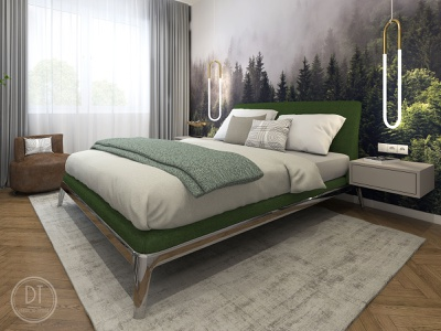 Bezručova Residence luxury apartment luxury design 3d visualiser interiordesigner bedroomdesign visualization interior interior design