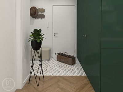 Bezručova Residence - Hall luxury design hall 3dvisualization visualizations interiordesigner interior interiordesign