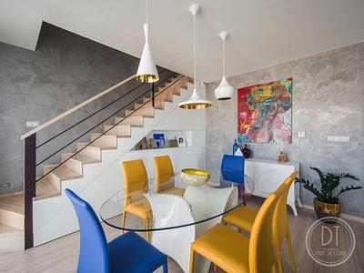 Realization living room in Bratislava dtinteriordesign apartment realization luxury apartment interior design ideas interiordesigner interior design interior