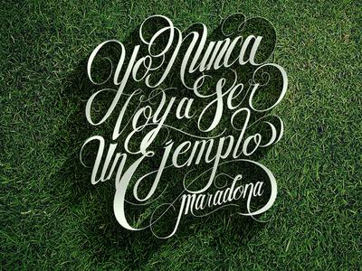 Maradona typography mexico futbol quotes maradona soccer d10s diego armando diego argentina sonora hermosillo