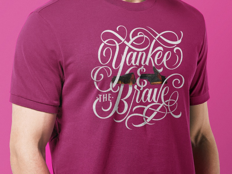 Yankee and the Brave Shirt rtj4 brave yankee run the jewels typography handlettering lettering