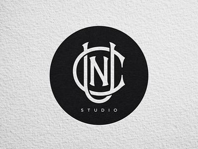 UCN Studio branding logo badge logotype monogram lettering studio nail salon nails