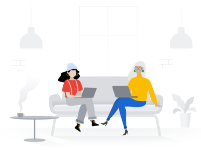 Team work creative marketing digital teamwork team illustration design