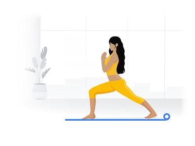 Home yoga cos quarantine health healthy homeoffice workout homeworkout quarentine design