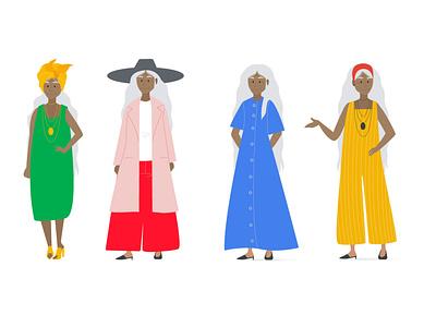 Dolores characterdesign illustration vector creative character design