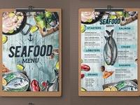Seafood Menu (concept)