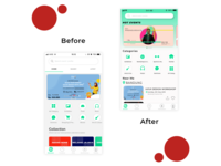 Eventevent app design exploration