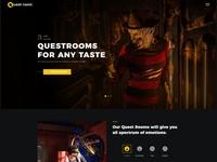 Quest Room - Creative OnePage WordPress Theme