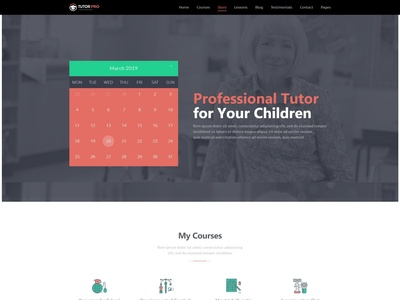 Tutor Pro | Education WordPress Theme