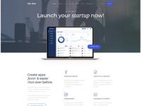 App, Saas & Software Startup WordPress - SanJose