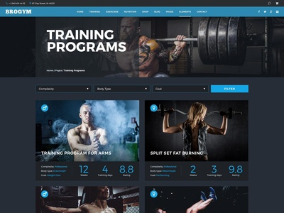 Gym Training Programs