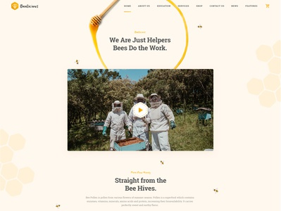 BeeLicius - Honey Production WP Theme