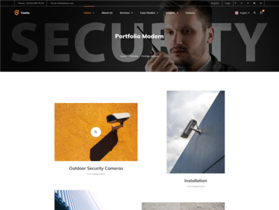 Security - Portfolio Modern