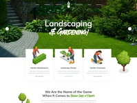Acacia - Landscaping and Gardening WordPress Theme