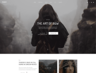 Phoxy - Creative Photography WordPress Theme