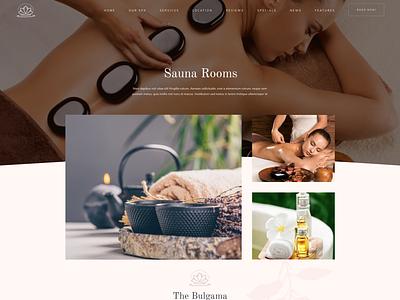 Rela - Spa WordPress Theme - Sauna Rooms beauty spa webdesign typography product design print mobile illustration branding responsive wordpress development gallery modern agency portfolio wordpress webdevelopment business creative