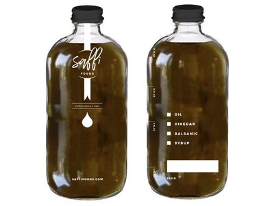 Saffi Bottle Design