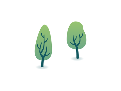 Trees — The art of a last-minute getaway infographic