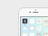 Icon on screen — Shotl app