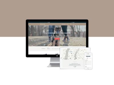 Responsive: desktop, tablet and mobile — Andrea Arden website