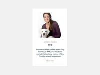 Andrea's bio — Andrea Arden website