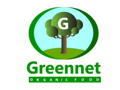 Logo for organic food store