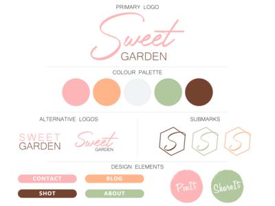 sweet garden branding