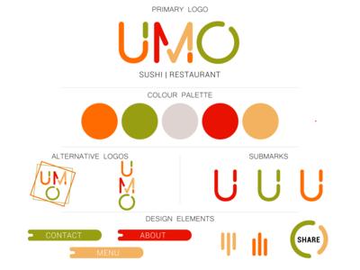 umo sushi branding