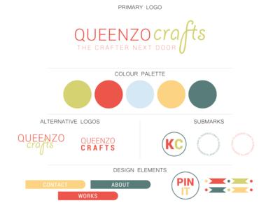 Queenzo crafts branding
