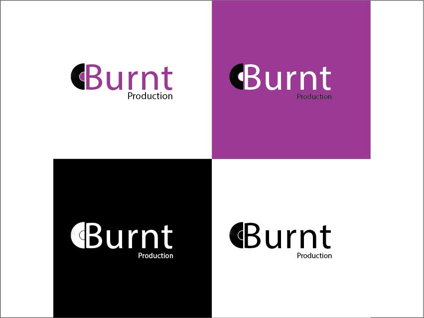 Burnt production logo 1 logodesign illustration illustrator design logo illustrator design