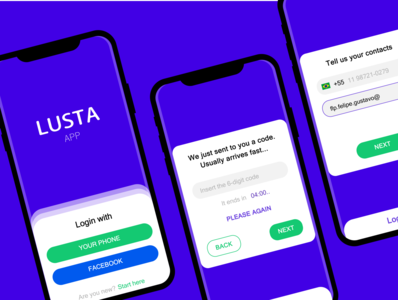 UX design - New card app