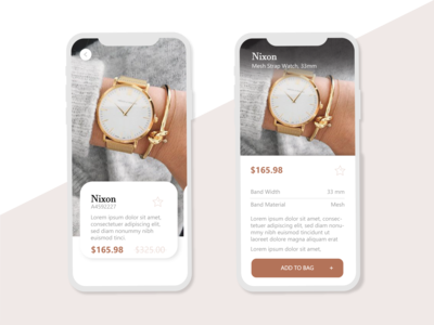 UX/UI Jewerly app