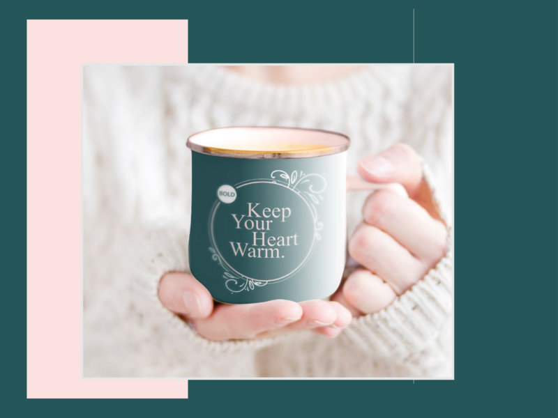 bold cup branding