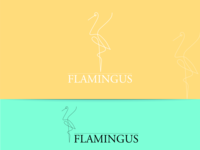 flamingus branding