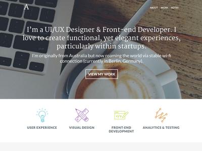 UI/UX Portfolio portfolio ux portfolio web design