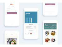 Chia - Food Diary App