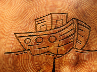 shipcarved