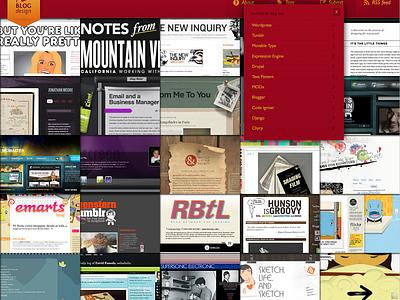 Ilbd M ui web design mobile tumblr navigation